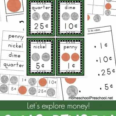 Explore Money with Preschool Coin Sorting Fun
