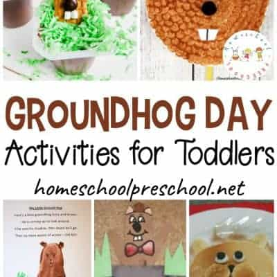 13 Simple Groundhog Day Activities for Toddlers