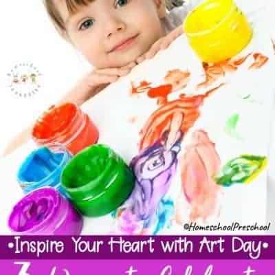 How to Celebrate Inspire Your Heart with Art Day