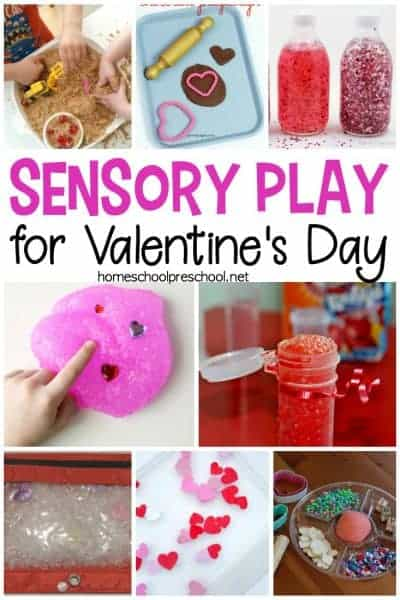 20 Valentine's Day Sensory Activities for Preschoolers