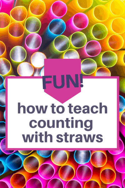 Discover a fun way to teach preschool numbers and counting with straws and toilet paper tubes. Simple, hands-on activity for preschool math!