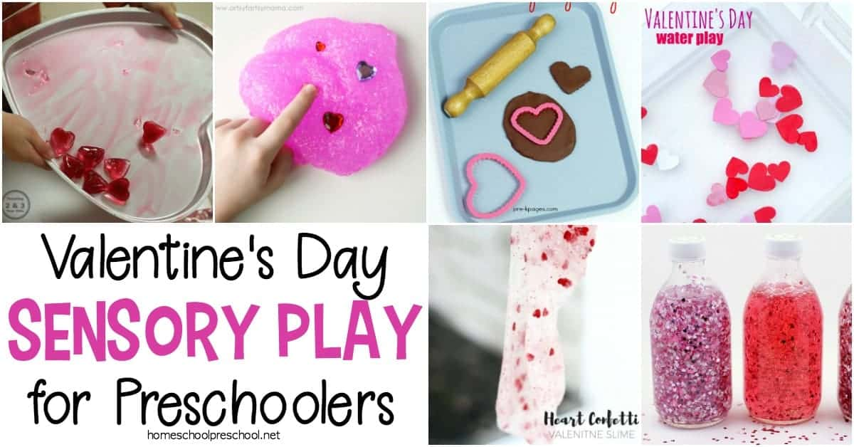 Engage your little ones with one or more of these Valentine's Day sensory activities for preschoolers and toddlers. Hands-on fun for little ones!