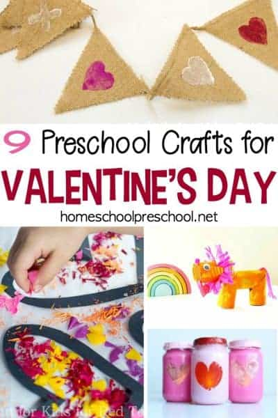 9 Easy Valentines Crafts for Preschoolers to Make