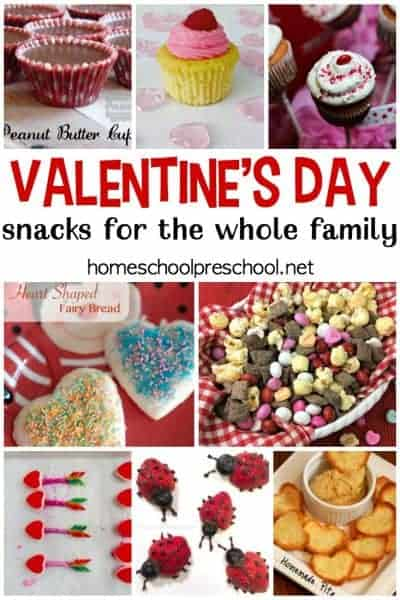 21 Tasty Valentines Day Snack Ideas for Kids