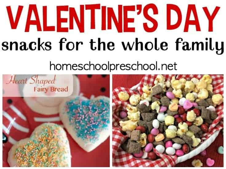 Make these with your kids, or present them with a special afternoon snack. Either way, your kids will go nuts for these Valentines Day snack ideas!