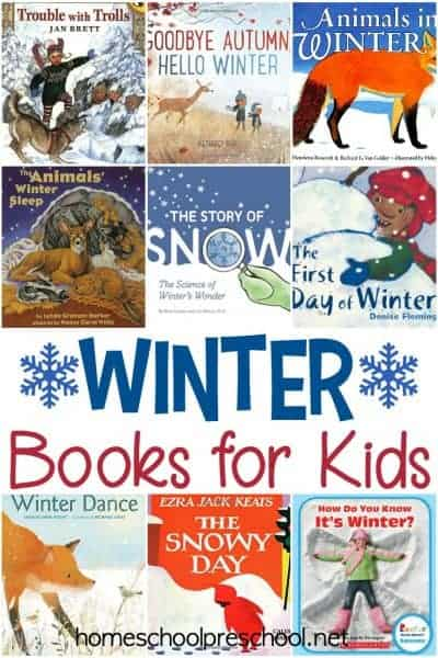Winter is here! There is no better time to curl up with your kiddos and a good winter picture book. These winter books for kids are a great place to start.