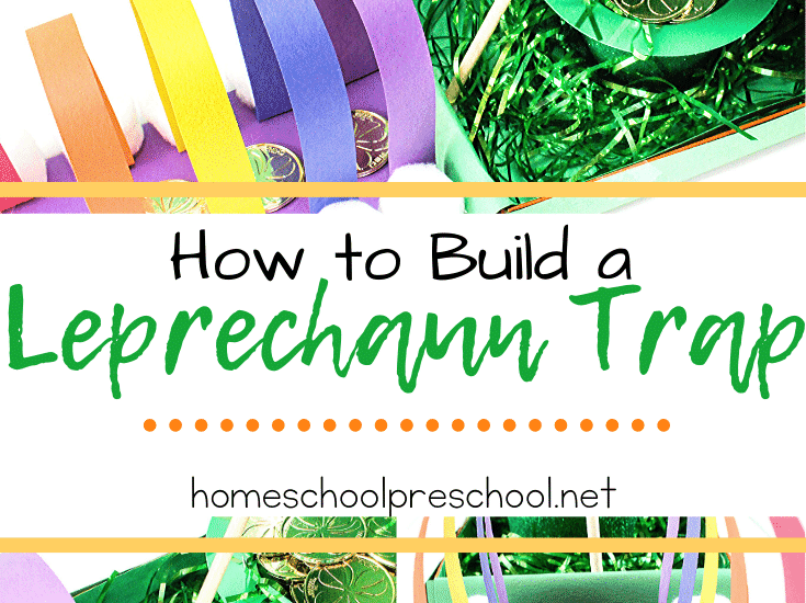 Your kids will have a blast trying to catch a leprechaun! Check out how to build a leprechaun trap with this step-by-step tutorial.