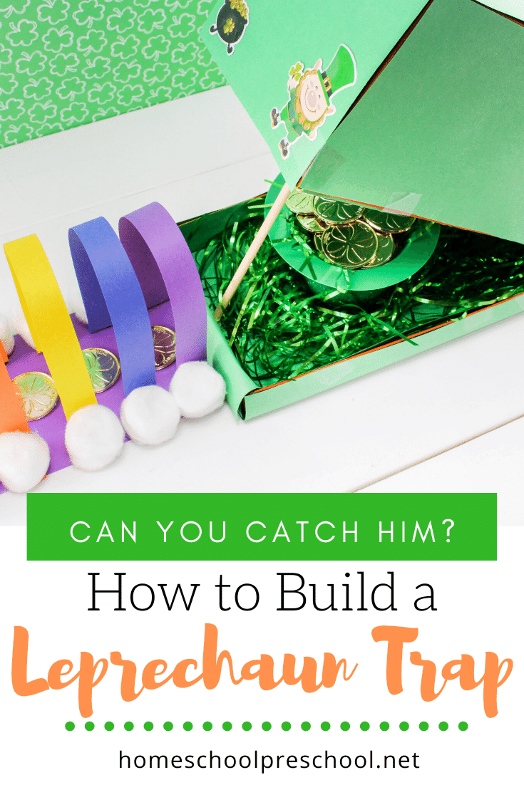 Your kids will have a blast trying to catch a leprechaun! Check out how to build aleprechaun trap with this step-by-step tutorial.