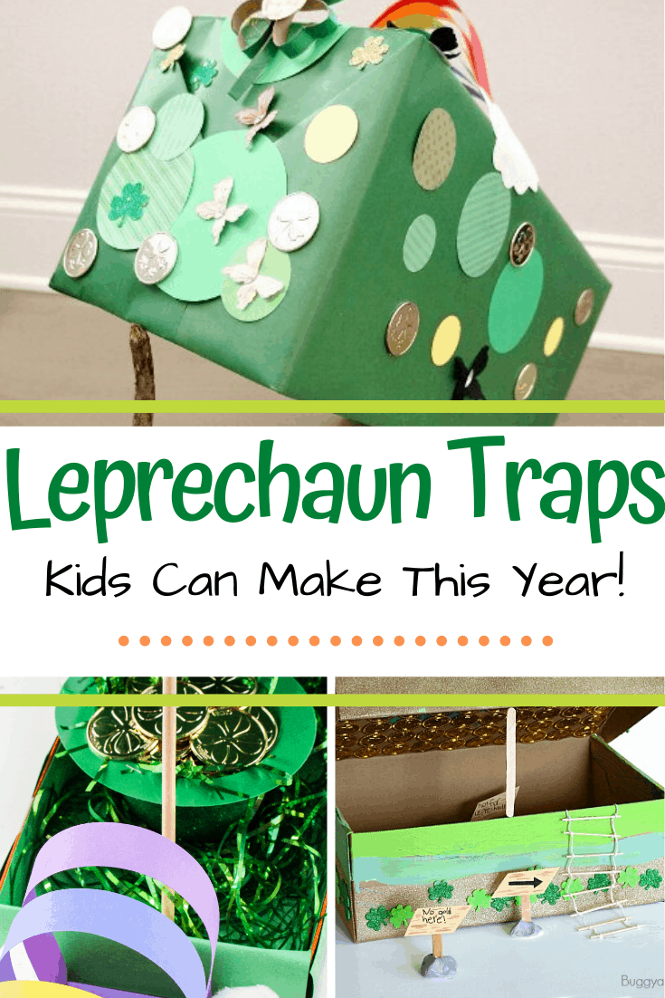 Help your little ones catch a leprechaun in their homemade leprechaun traps. Here are 25 ideas that are sure to inspire your kids this year!