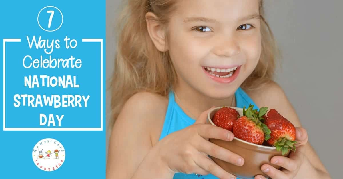 Did you know that February 27th is National Strawberry Day? It's a wonderful day to enjoy some strawberries and enjoy thinking about spring!