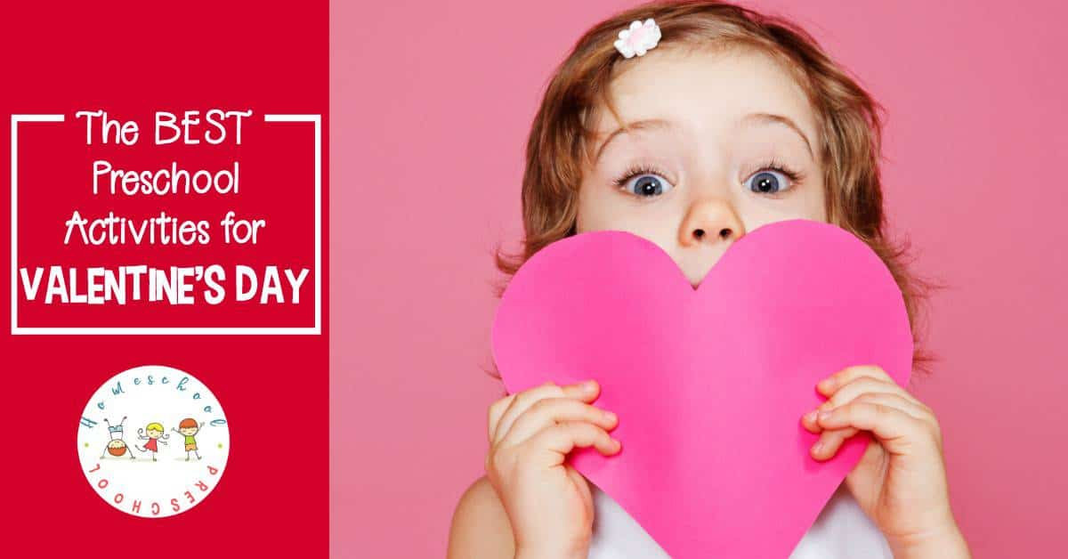 I love incorporating the holidays into my homeschool preschool lessons. With these Valentines Day toddler and preschool activities, you'll be set for the entire month of February!