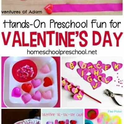 Educational Valentines Activities for Toddlers and Preschoolers