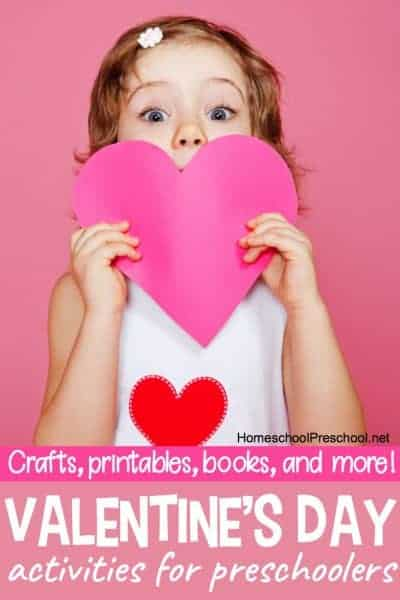 Valentines Day Toddler and Preschool Activities