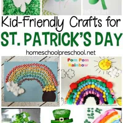 21 Easy St Patricks Day Kid Crafts