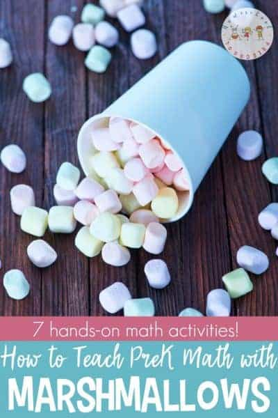 5 Hands-On Ways to Teach Preschool Math with Marshmallows