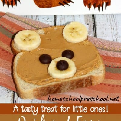How to Make a Quick Teddy Bear Toast Snack for Kids