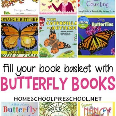 12 Delightful Butterfly Books to Read with Preschoolers