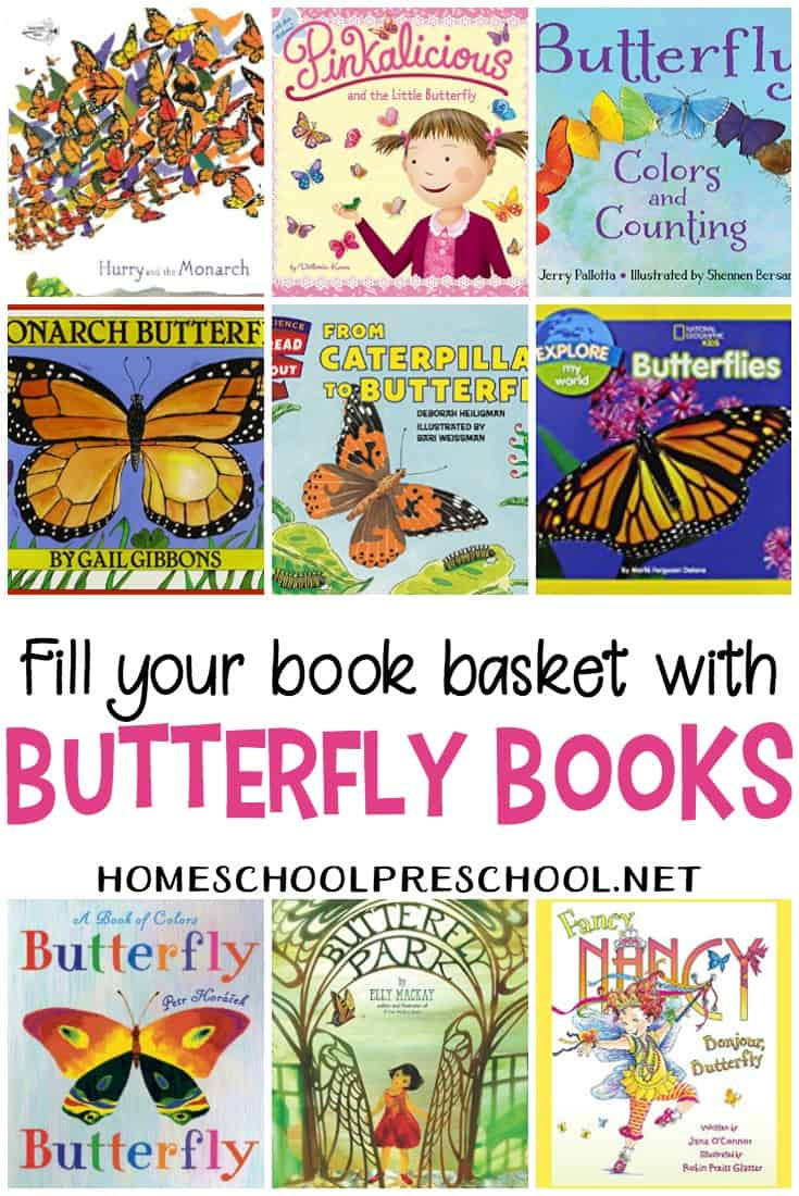 With spring coming up and flowers about to bloom, it's the perfect time to learn all about butterflies. Some of these butterfly books teach about the life cycle.
