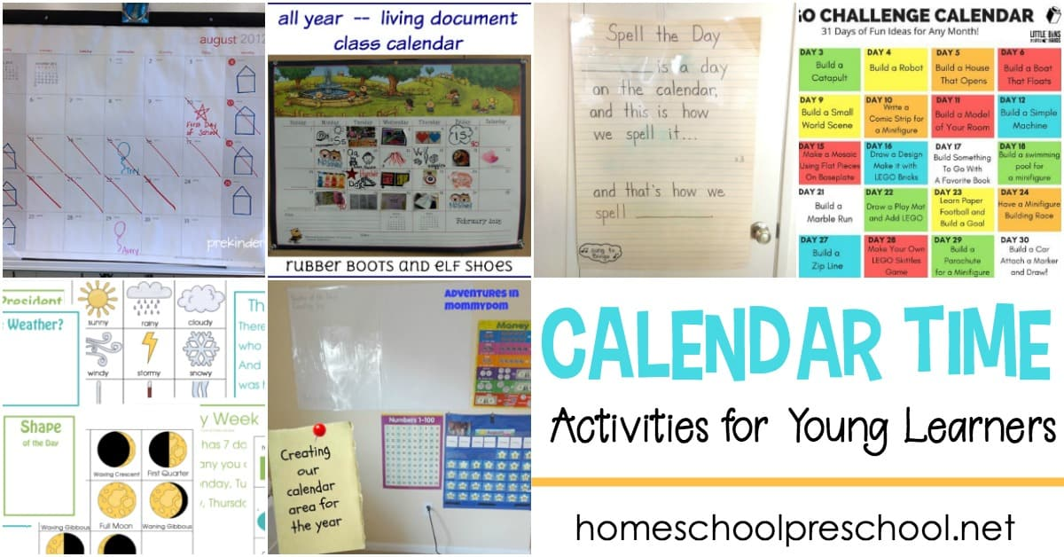 Start your school day off right! Use these calendar time activities to develop an engaging and interactive learning experience for your young learners.