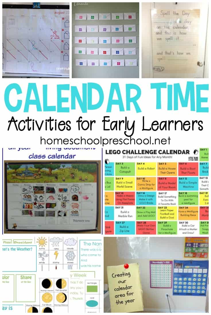 Kindergarten Calendar Games : Calendar time activities for kindergarten and preschool