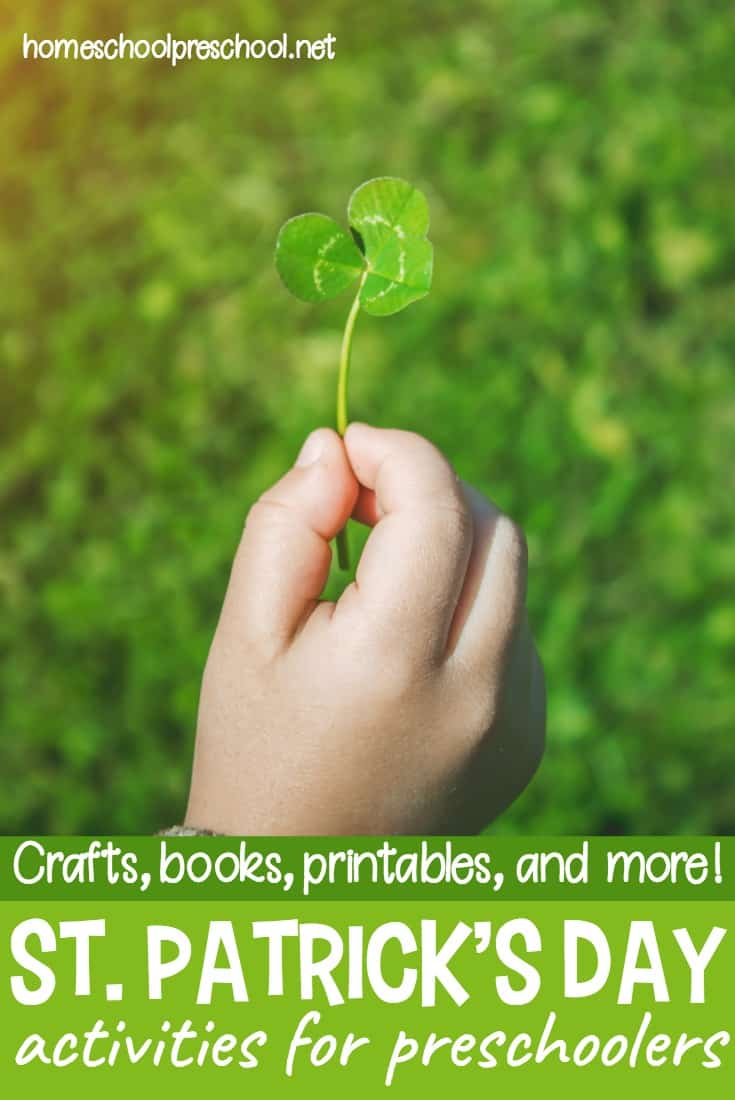These St Patrick activities for preschoolers will get your little ones in the spirit of leprechauns, lucky charms, and pots of gold at the end of the rainbow!