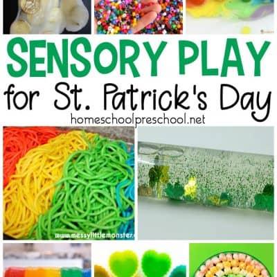 The Best St Patrick Preschool Sensory Play Ideas