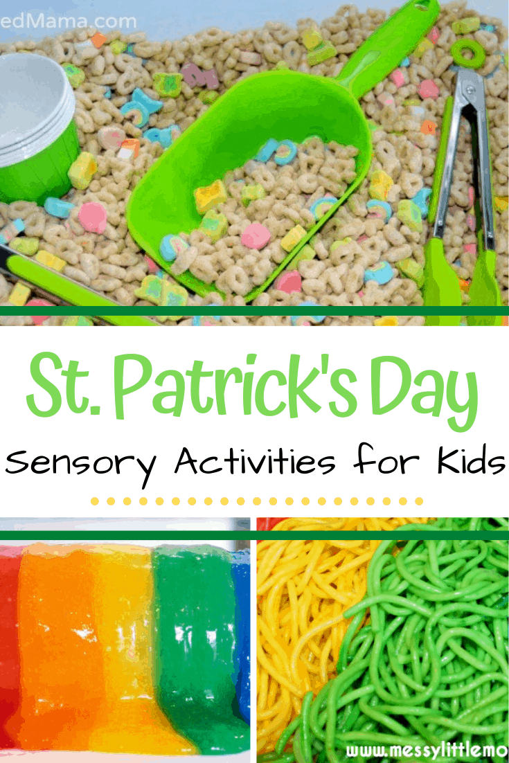 Engage your little ones with one or more of these St Patrick's Day sensory play ideas. Hands-on fun for toddlers and preschoolers!