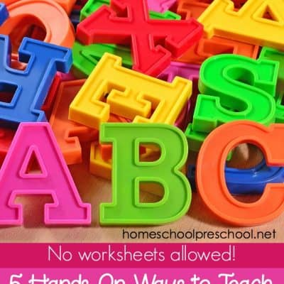 5 Hands-On Ideas for Teaching Letter Sounds