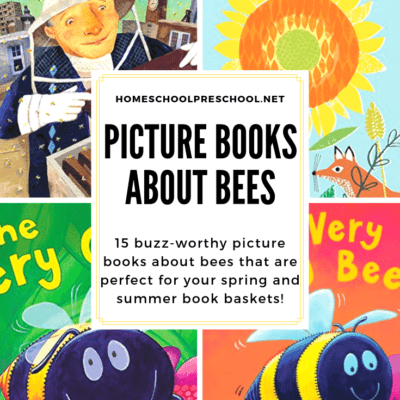 Children's Picture Books About Bees