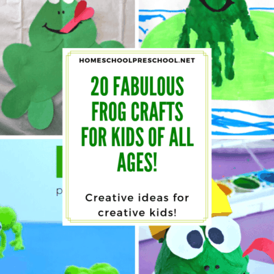 Frog Crafts for Preschoolers