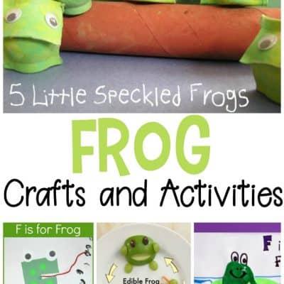 19 Fabulous Frog Crafts for Preschoolers