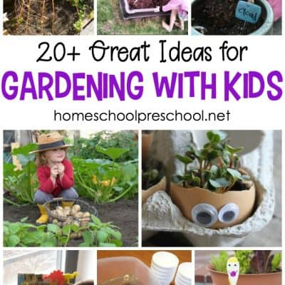 22 Ideas for Gardening with Kids This Spring