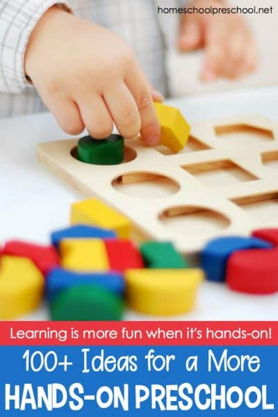 Hands-On Preschool Activities for Math, Literacy, and Science