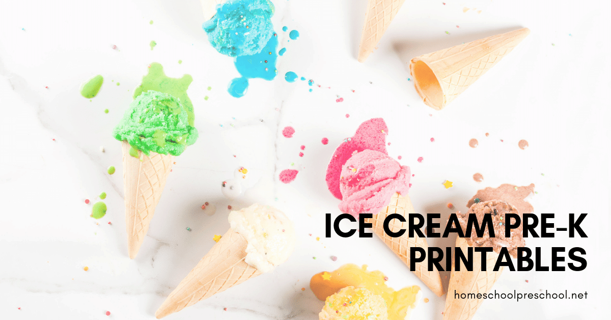 I scream! You scream! We all scream for ice cream printables! Add a cool twist to your summer lessons with ice cream activities for math, literacy, and more.