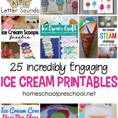 25 Incredible Ice Cream Printables for Preschoolers