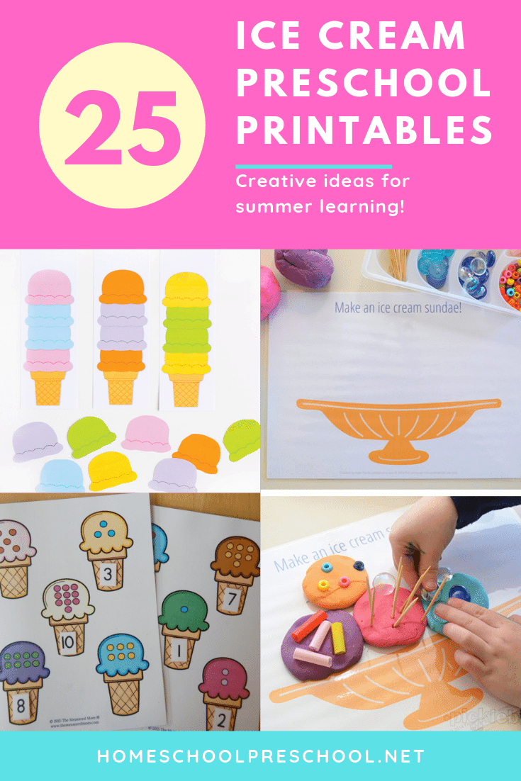 graphic about Cool Printables known as 25 Extraordinary Ice Product Printables for Preschoolers