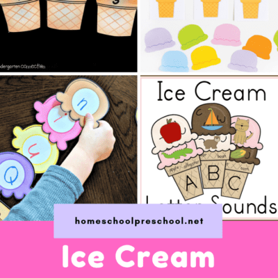 Ice Cream Printables for Preschoolers