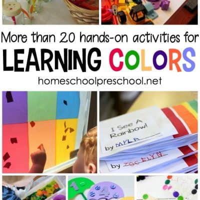 20 Hands-On Activities for Learning Colors
