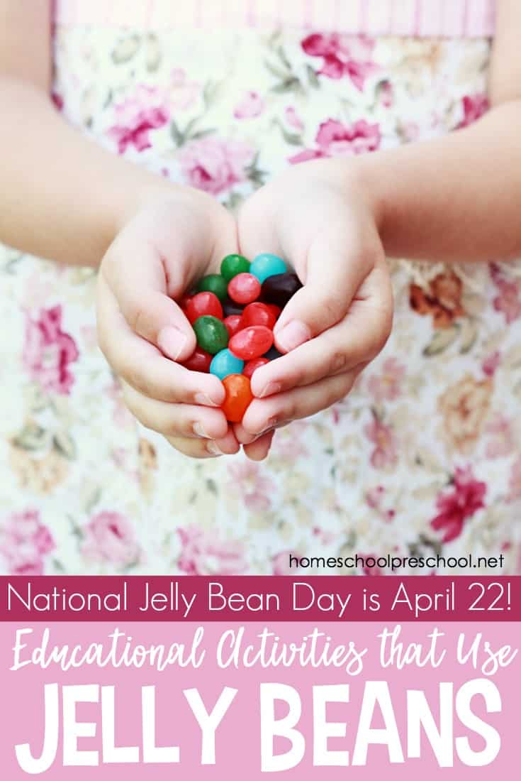 Do your preschoolers love jelly beans? Then you'll be delighted to know that April 22nd is National Jelly Bean Day!