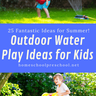 25 Outdoor Water Play Ideas for Preschoolers