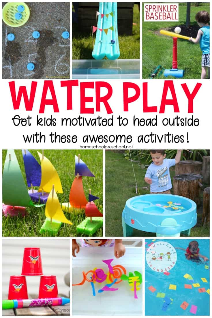What can you do to entertain your kiddos on a hot spring or summer afternoon? Try one or more of these ideas for an afternoon of outdoor water play for kids.