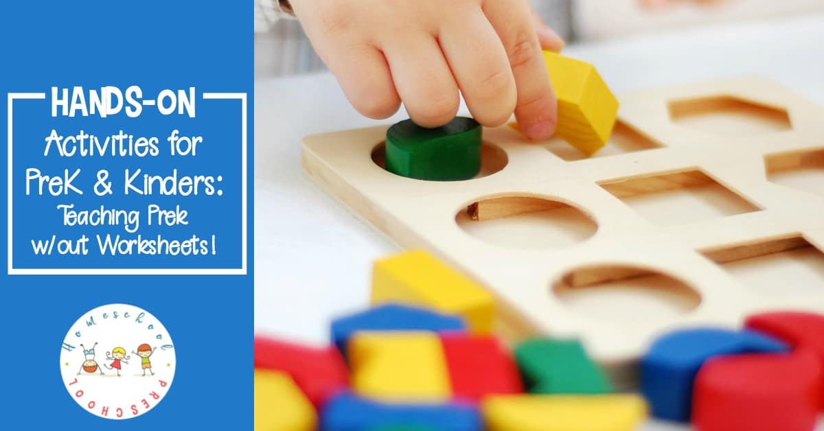 Learning is more fun when it's hands-on. Ditch the worksheets and engage your young learners with this collection of over 100 hands-on preschool activities for math, literacy, and science.