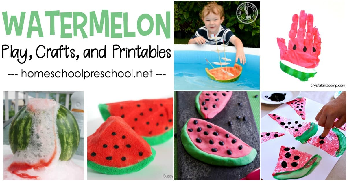 Kids will have so much fun learning and playing with watermelons. These watermelon ideas for kids will provide hours of educational entertainment all summer long.