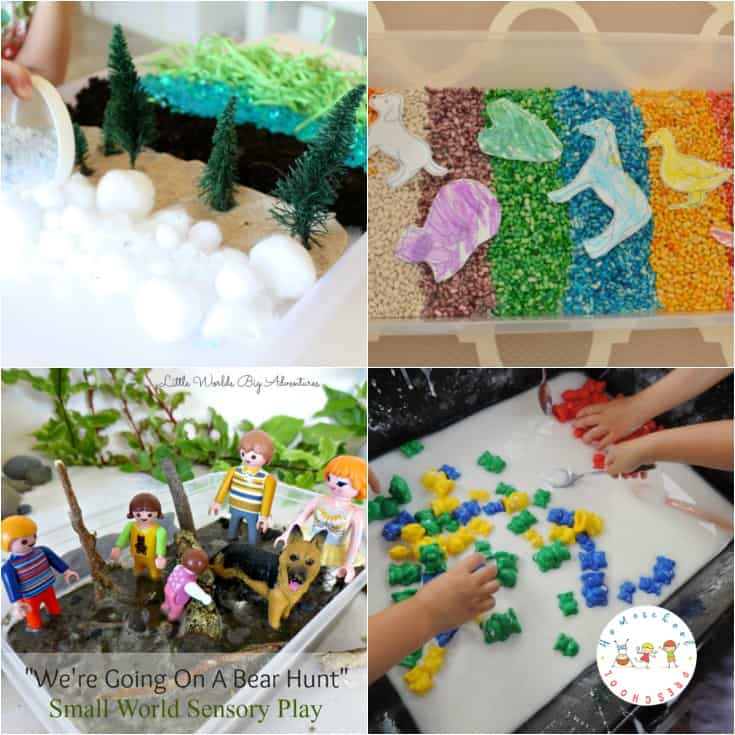 Are you looking for more hands-on fun for your preschool bear theme? Then, don't miss these bear-themed sensory play activities for preschoolers!