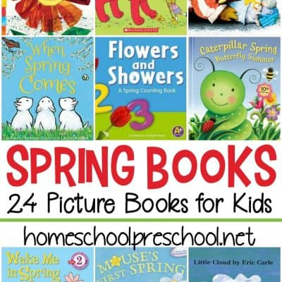 Spring Books for Preschoolers