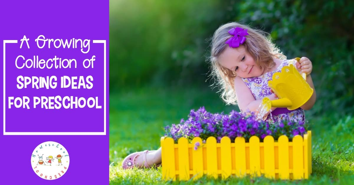 Spring has sprung, and you're going to love these spring ideas for preschool! Explore an amazing collection of books, printables, and resources for spring.