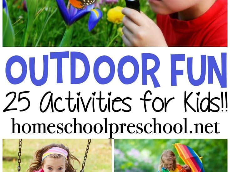 Get outdoors this spring, play, and explore nature with your preschoolers. These outdoor springtime preschool activities are fun for the whole family!