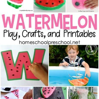 25+ Watermelon Ideas, Crafts, and Printables for Kids