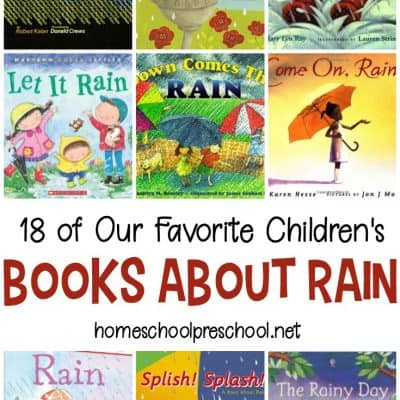 18 of Our Favorite Books About Rain for Young Children
