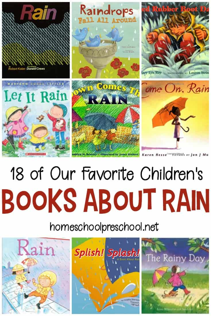 Spring showers bring new life to the world around us. Sometimes, though, kids can be afraid of rain and storms. Pique their interest with this collection of books about rain.